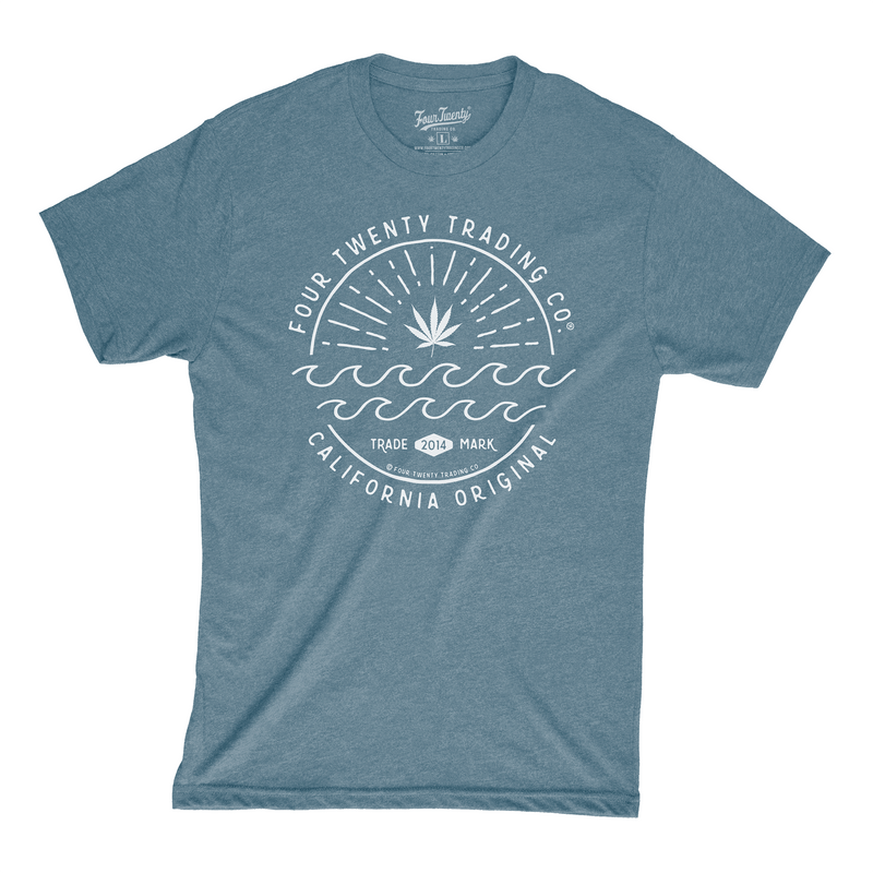 California Original Indigo Men's Tee