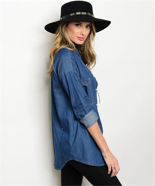 Dark Denim Top