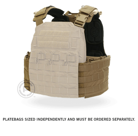 "Crye Precision CAGE ""CPC"" Plate Carrier Harness (PLATE BAGS SOLD SEPARATELY)"