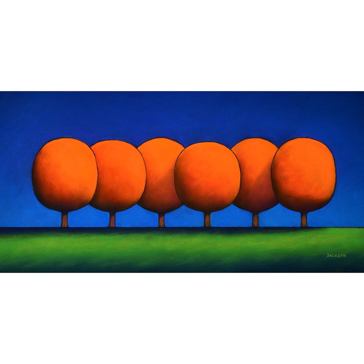 """The Orange Trees Stick Together""-Christopher Jackson-Renee Taylor Gallery"
