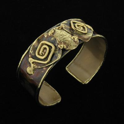 B915 Cuff-Creative Copper-Renee Taylor Gallery