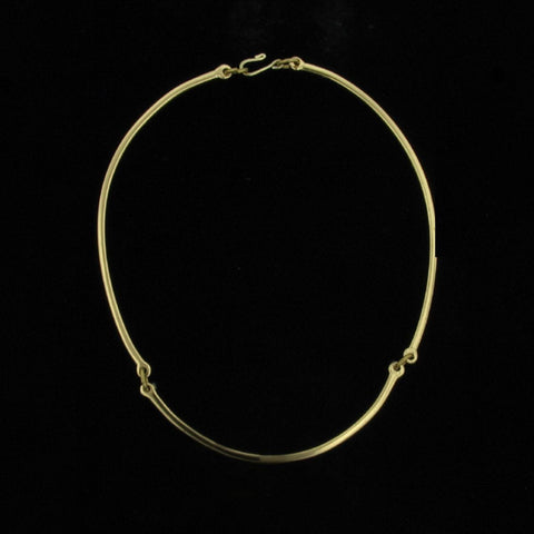 Brass Neckring-Creative Copper-Renee Taylor Gallery