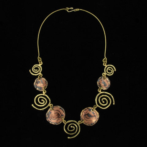 C109 Necklace-Creative Copper-Renee Taylor Gallery