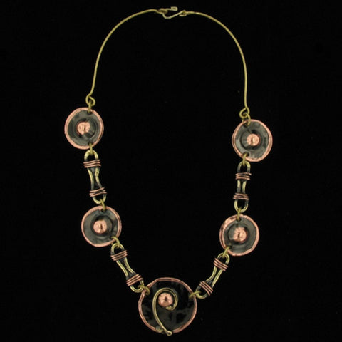 C110 Necklace-Creative Copper-Renee Taylor Gallery