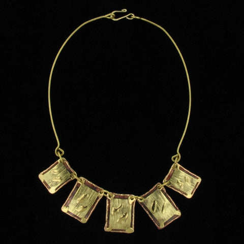 C166 Necklace-Creative Copper-Renee Taylor Gallery