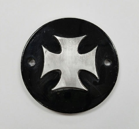 Iron Cross Points Cover for Harley (Contrast Cut)