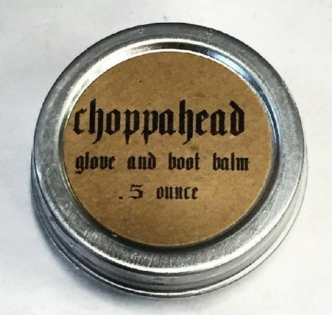 Choppahead Glove and Boot Leather Balm (.5oz)