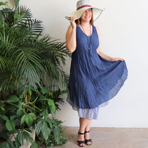 Cotton Layer Dress