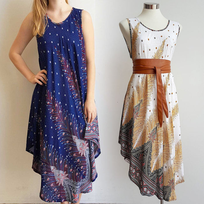 The Ideal Sun Dress - Feather