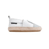 white rabbit espadrille side Pretty Brave baby shoes zoo