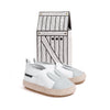 white rabbit espadrille box Pretty Brave baby shoes zoo