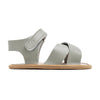 grey valencia sandal side PrettyBrave baby shoe for boy