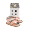 rose gold valencia sandal box Pretty Brave baby shoes for girl