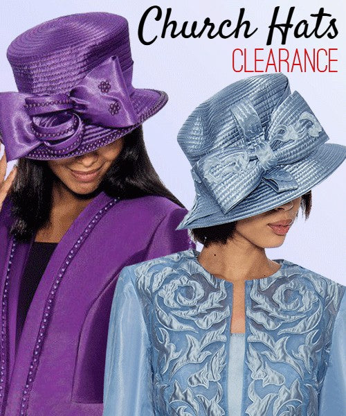 Women Church Hats Clearance