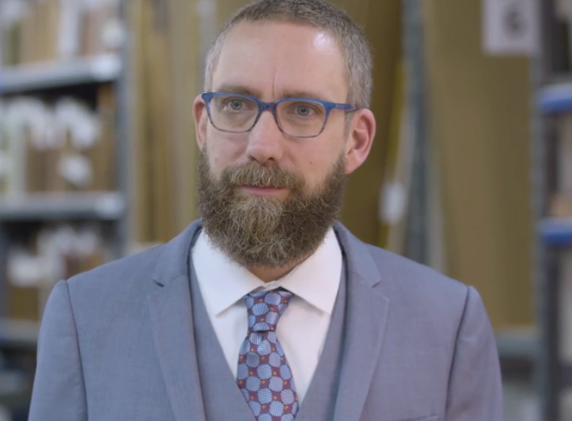 A Special Video Clip of the Senior Specialist for Books, Manuscripts and Americana at Christie's, wearing a Gentleman Joe Tie