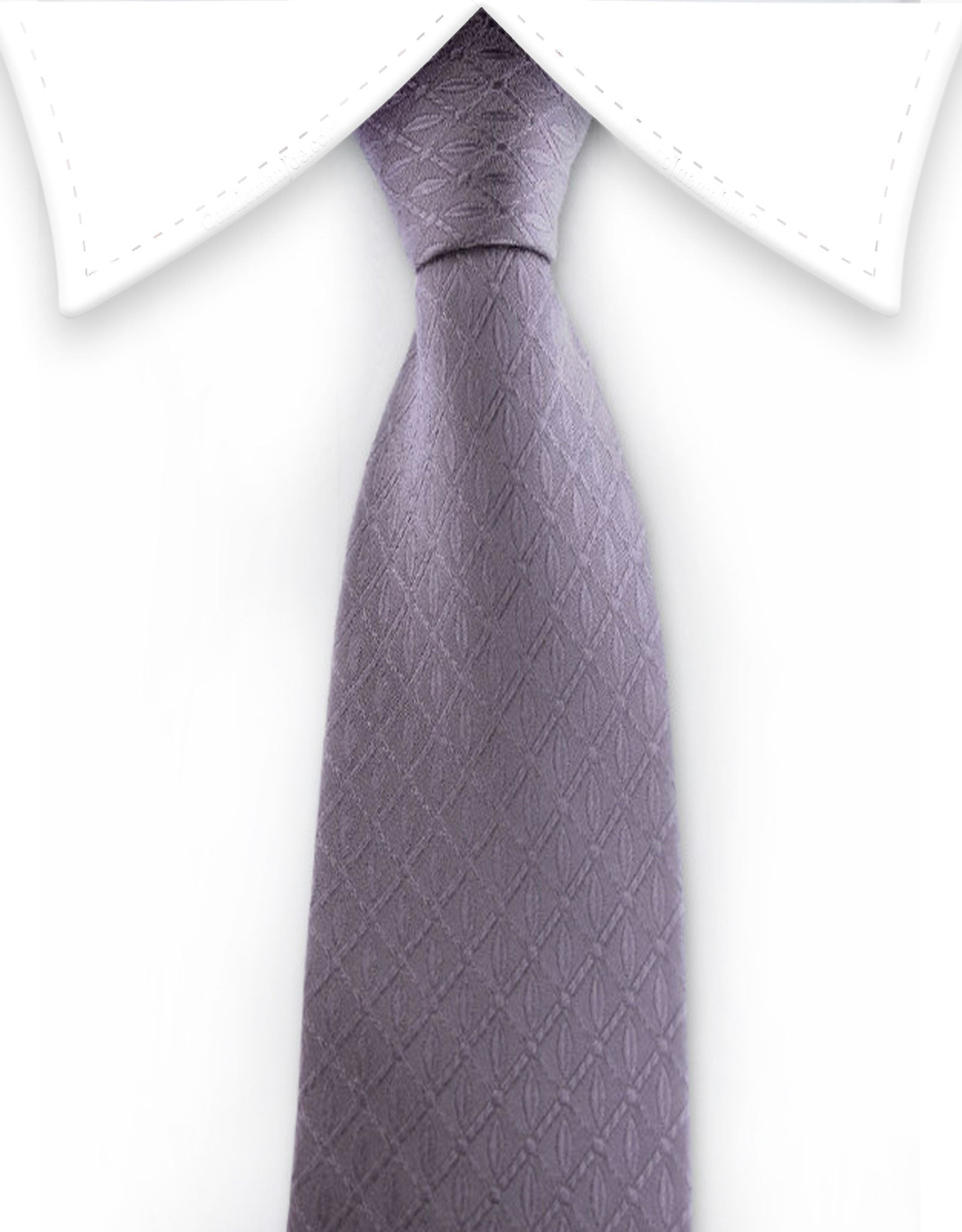Charcoal gray teen tie