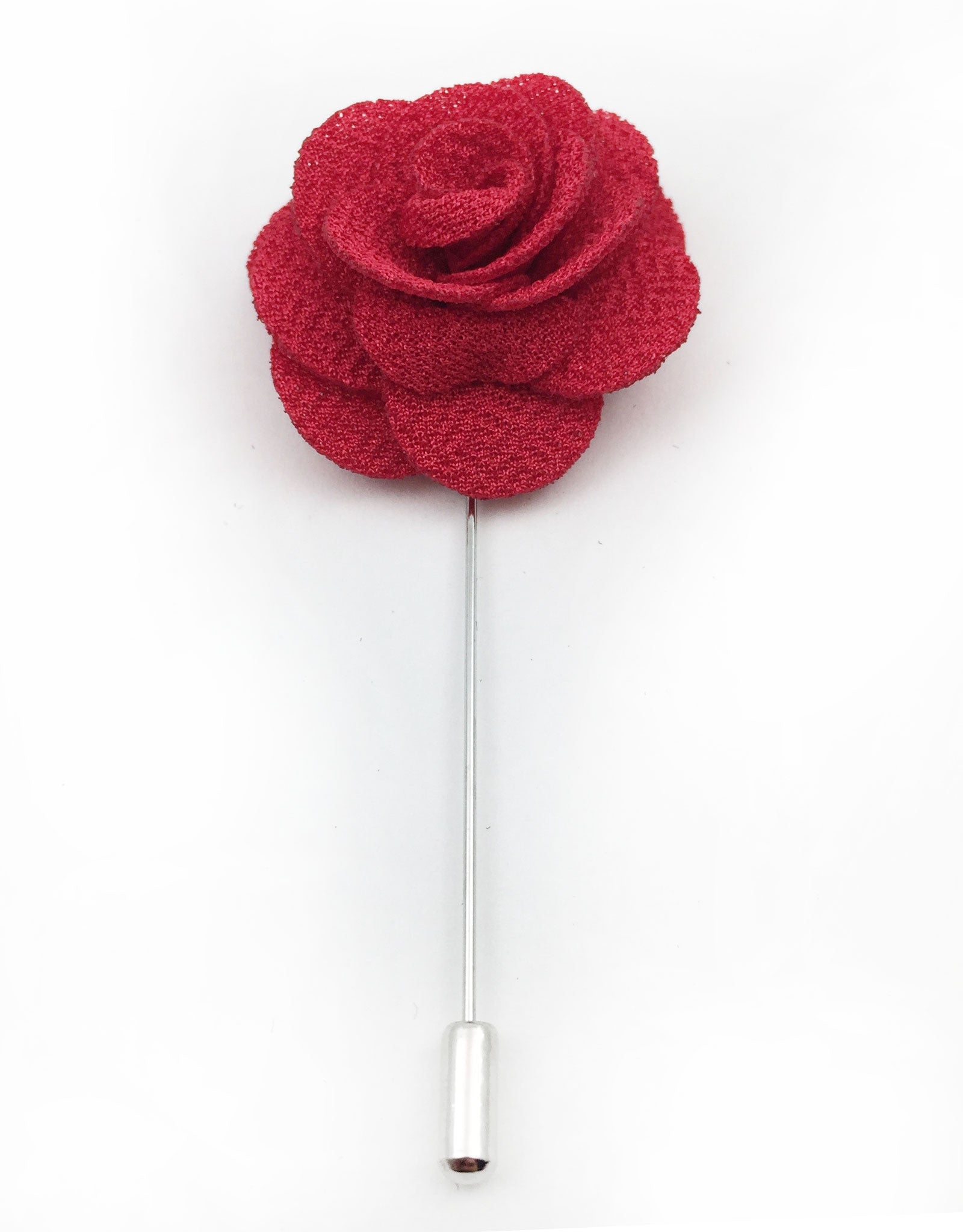 Poppy Red Lapel Flower