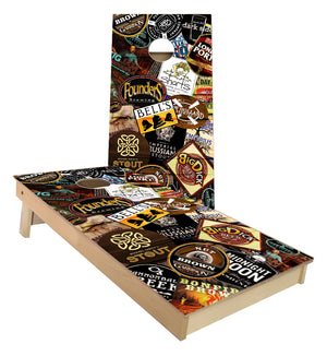 Michigan Craft Brewery cornhole boards