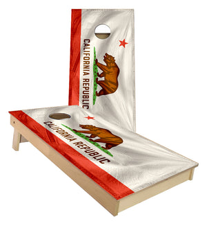 California State Flag Cornhole Boards