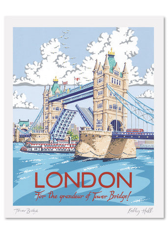 London Signed Print