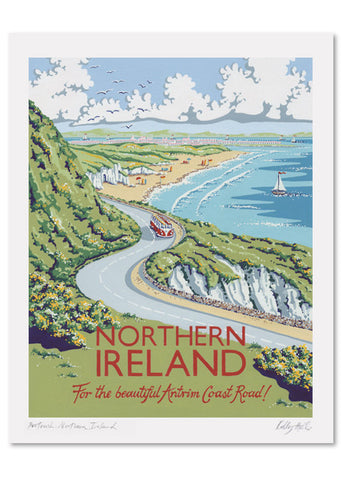 Northern Ireland Signed Print