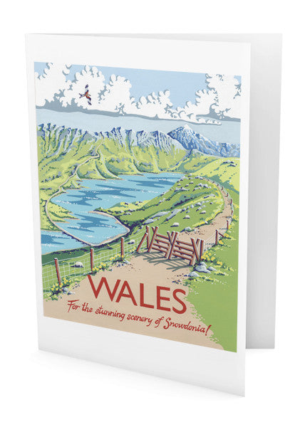 Wales Greeting Card