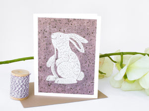Bunny Note Card Set - Woodland Animals - Handmade Cards - The Imagination Spot - 1