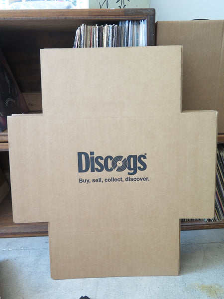 Record mailers for 45s from Discogs
