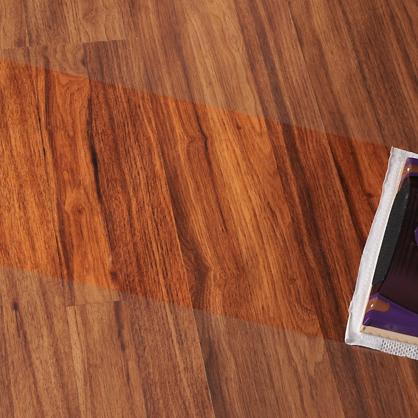 Laminate Floor Cleaning Process