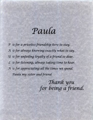 Friendship Name Poems