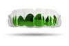 Chrome Emerald Green Grill (Clear)