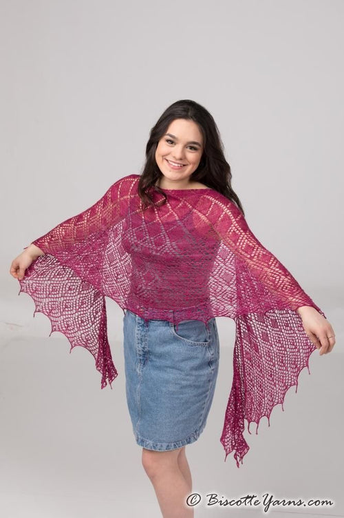 Crystallace - Shawl Pattern