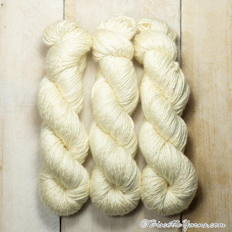 Albus - Merino and Silk yarn VANILLE