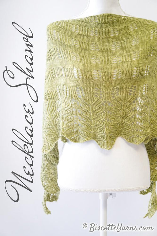 Necklace Shawl Pattern
