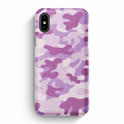 True Envy iPhone X/XS Case - Blazing Camouflage