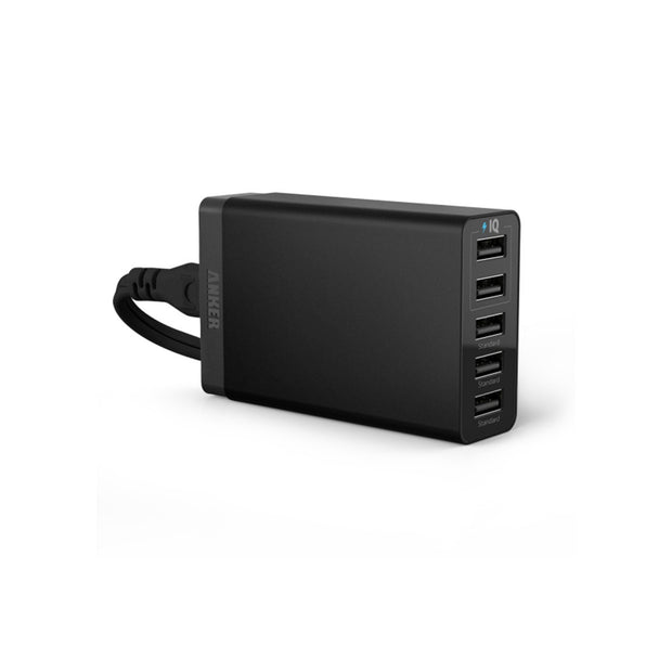 Anker 25W 5A 5-Port PowerPort5 Lite USB Charger Black