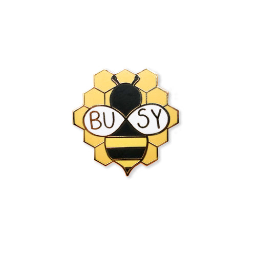 busy bee | enamel pin
