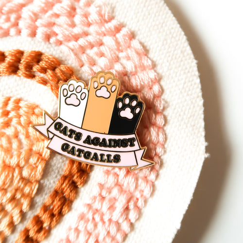 catcalls | enamel pin