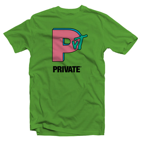PVT. MTV tee (Lime)