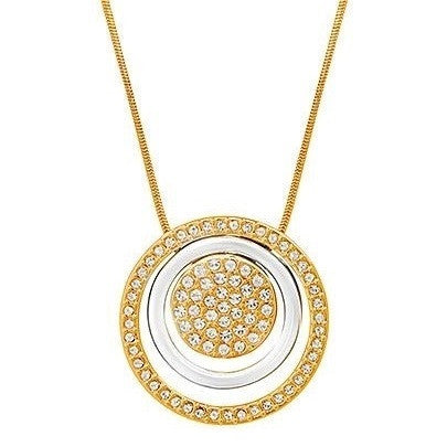 Amanda Suarez Gold Plated Solar Charm Necklace-Bijoux Closet