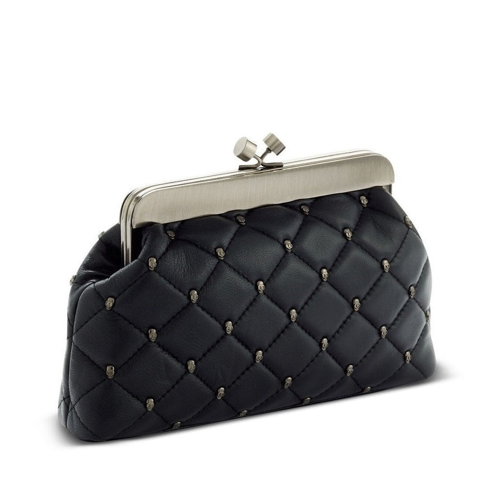 HOUSE OF HARLOW 1960 Tilly Quilted Frame Clutch Angle View