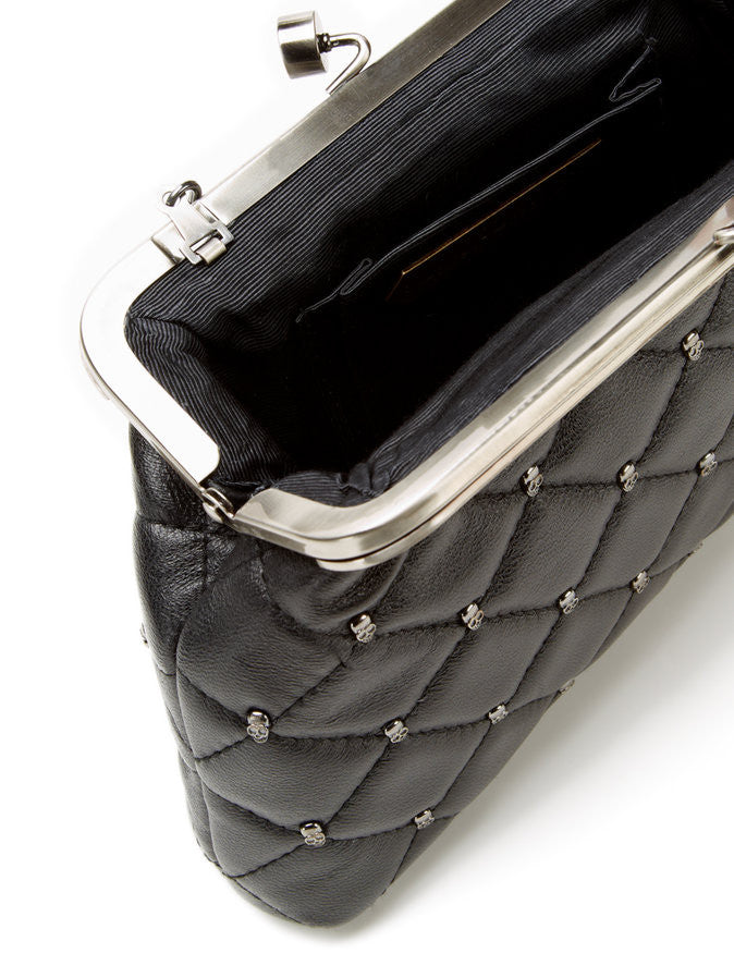 House Of Harlow 1960 Tilly Quilted Frame Clutch Interior
