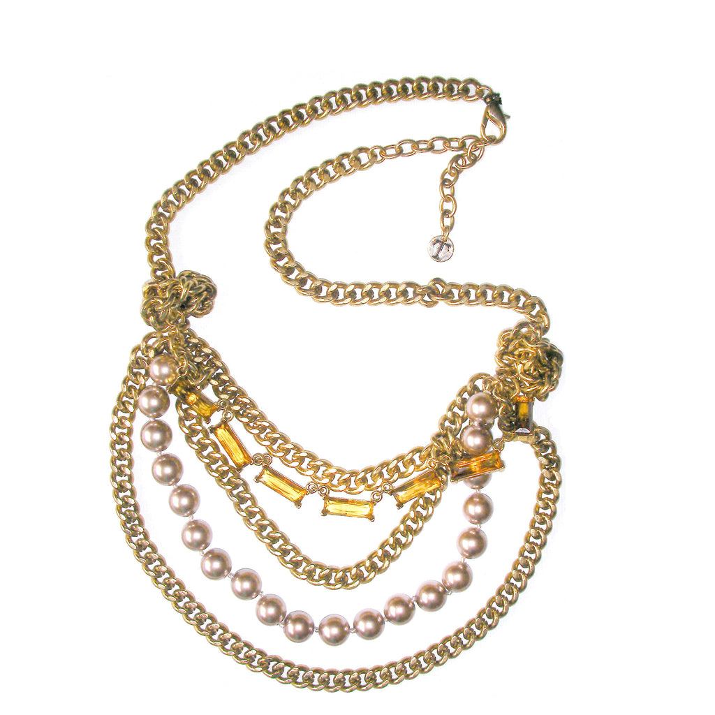 Talbots Multi Layered Necklace