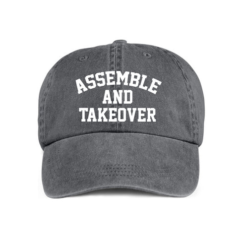 Urban Argyle | Assemble and Takeover | Low Profile Cap - Charcoal