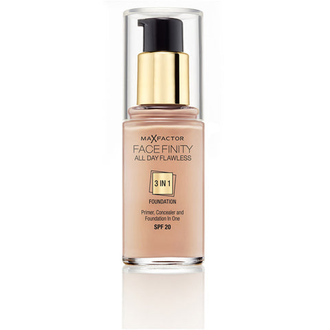 Max Factor 3 in 1 Foundation | Warm Almond