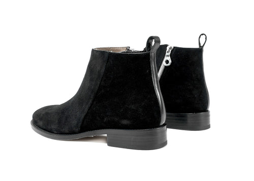 "Classic Pillar Zipped Boot ""Nero"""