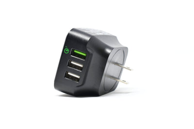 Boom&Tech® USB Wall Charger 3 Ports - Boom&Tech®
