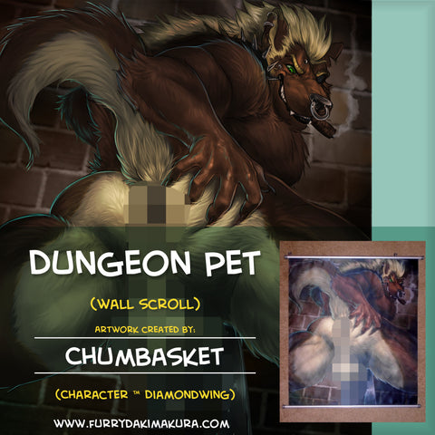 Dungeon Pet Wall Scroll by Chumbasket