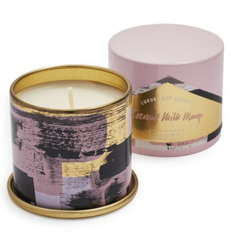 "Candle, Vanity Tin ""Coconut Milk Mango"""