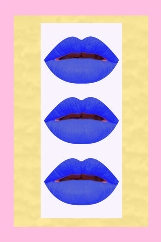 Soft Matte Lip Stain - Blue